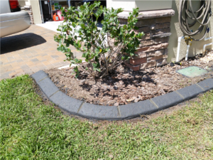 Custom Colored Lawn curbing